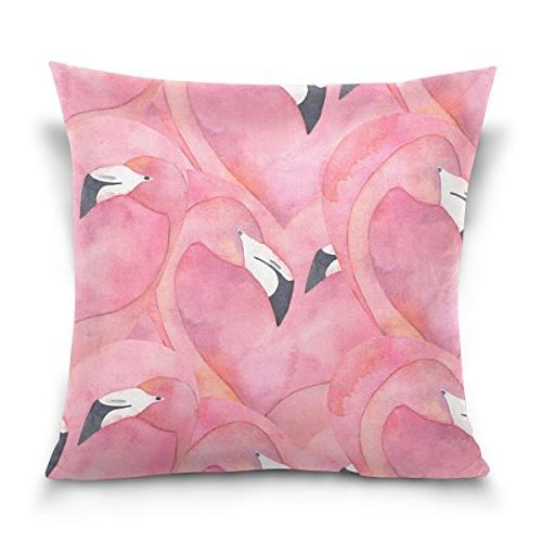 double sided pink elegant flamingo