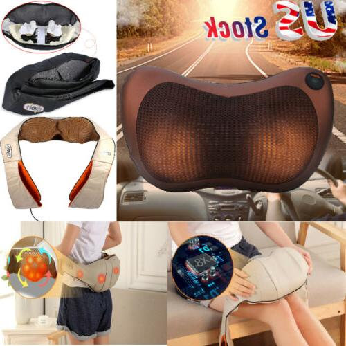 Electric Massage Massager Heat Shoulder Cushion