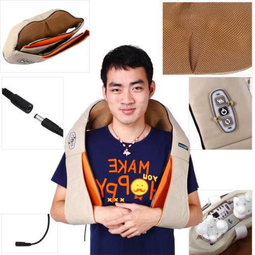 Electric Massager Neck Shoulder Cushion