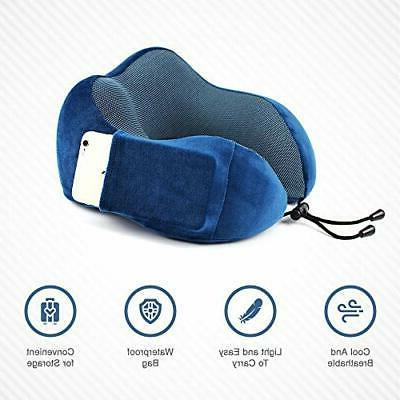 Ergonomic Neck Pillow Set | Flight Includes &