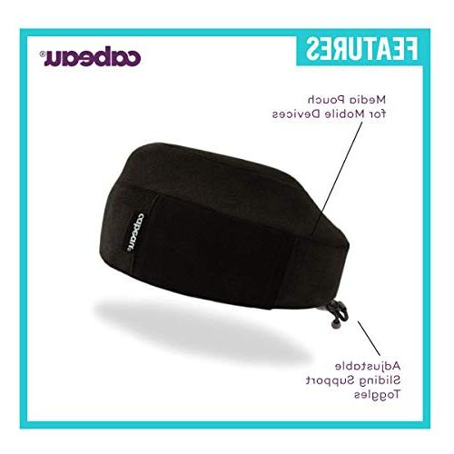 Cabeau Classic Foam Travel Pillow Airplane | 360 Degree Support | Designed Sleep Science Sleep in Any
