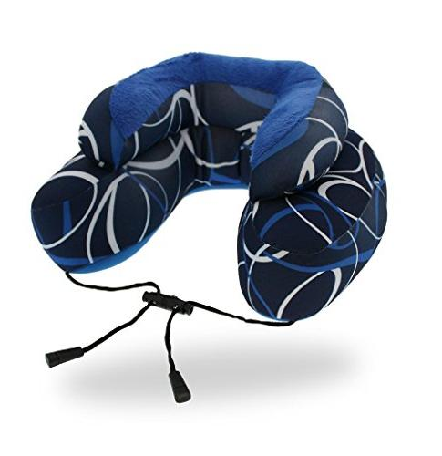 Cabeau Travel Neck Pillow - The Best Microbeads 360 & BLUE