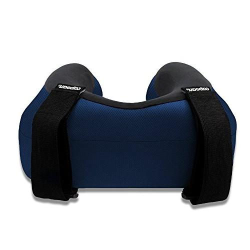 Cabeau Evolution S3 Travel Pillow Straps Airplane Your Head Won't Forward Plush – Quick-Dry Fabric by Science for Best Support