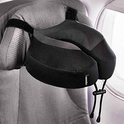Cabeau Evolution Pillow – Straps Your Head Won't Fall Forward Relax Plush – Quick-Dry Secure Head and
