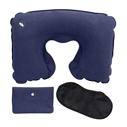flocking portable home pillow inflatable
