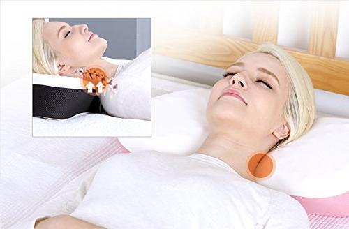 - Chiropractic HI Foam Pillow - Recover Neck & Straight