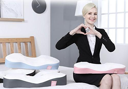 Heart Pillow HI Foam Bed Neck Straight Neck Syndrome