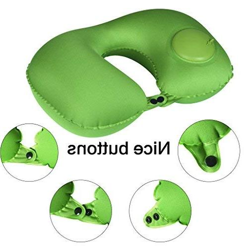 Inflatable Adjustable Neck Pillow Perfect for