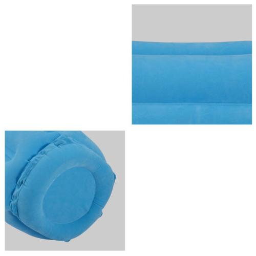 Inflatable Pillow Airplane Neck Head Cushion