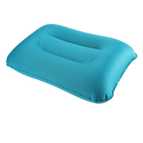 Inflatable Air Travel Airplane Cushion Rest US