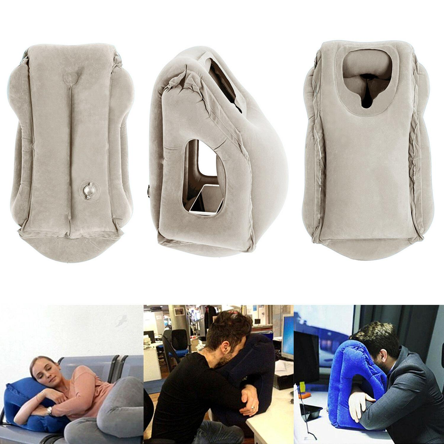 Inflatable Air Airplane Office Nap Neck