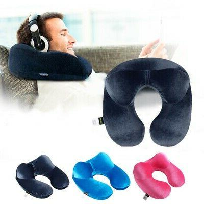 Travel Pillow Memory Foam U shaped Neck Support Head Rest Ca