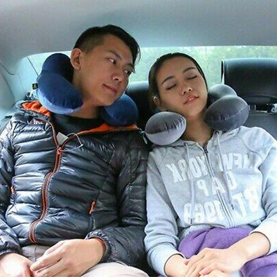 Memory Pillow Support Head Rest Airplane Cushion