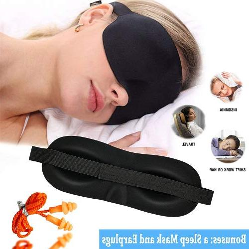 Inflatable Aid Mask, Carry - for Long-Haul Flights Trips – Compact,