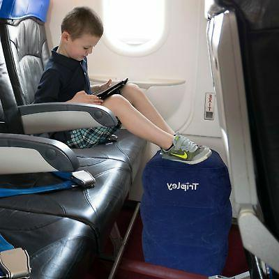 Inflatable Foot for Airplanes/Cars/Home/Office