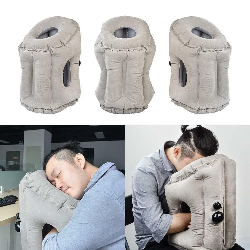 Inflatable Portable for Airplane Neck