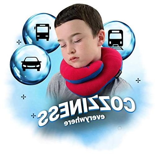 BCOZZY Travel Neck Pillow Supports Head, & Chin. A Product. Child