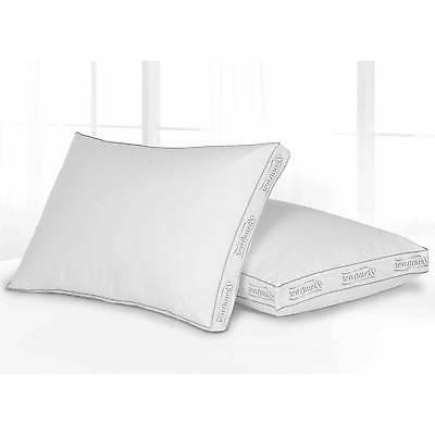 Beautyrest Set of 2 King Size Firm Bed Pillow Spa Bedding Ne