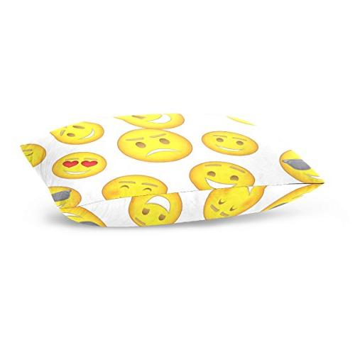 La Random Emoji Throw Covers for Sofa 20x30 Inch