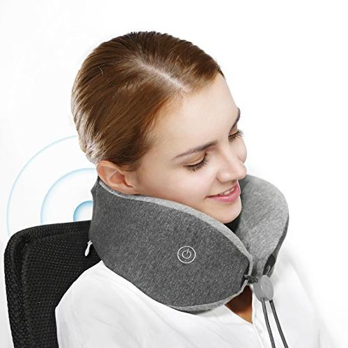 LFwellness Pillow To Aid Sleep And Relieve Strained Fully Supportive Travel Pillow With Magnetic Clasp