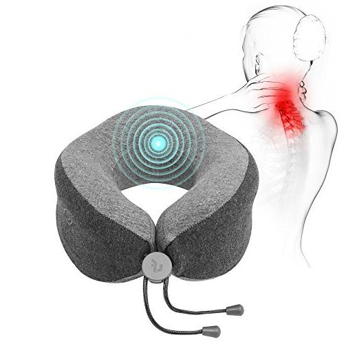 massaging neck pillow aid sleep