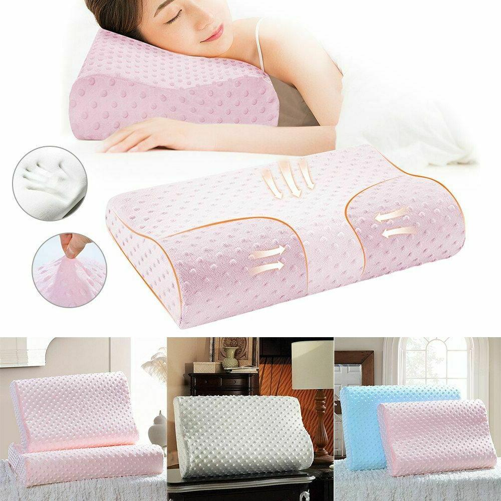 Memory Foam Bedding Pillow Butterfly Shaped Neck Protection