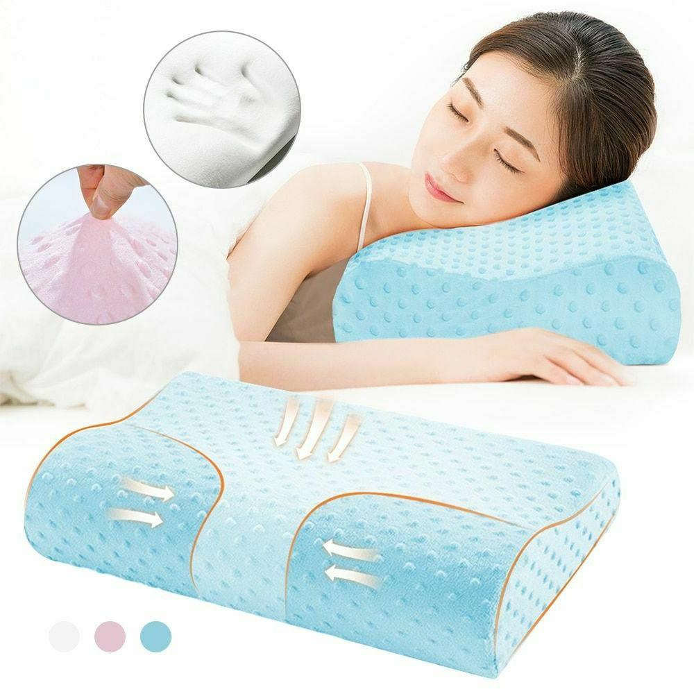 Memory Foam Bedding Pillow Butterfly Protection Orthopedic