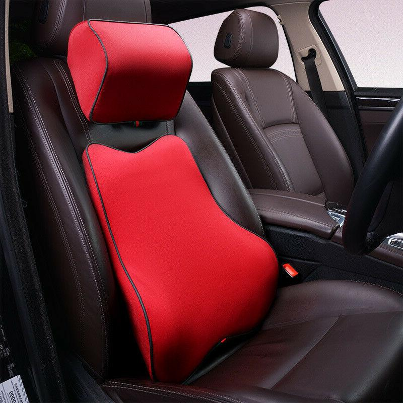 memory foam car seat neck pillow