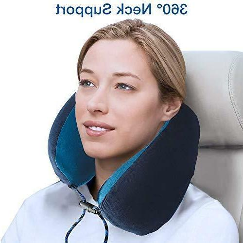 Memory Pillow with Washable Mask Set