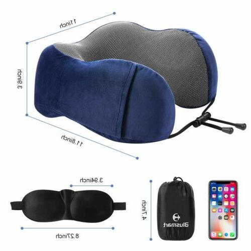 U-shaped Travel Pillows Foam Airplane