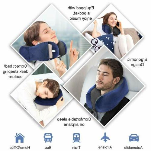 U-shaped Pillows Foam Airplane