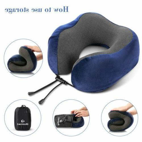 U-shaped Travel Memory Foam for Airplane Car Train
