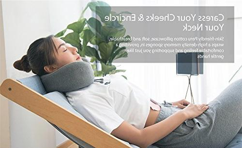 WTTHCC U-Shaped Massage Neck Pillow / Travel