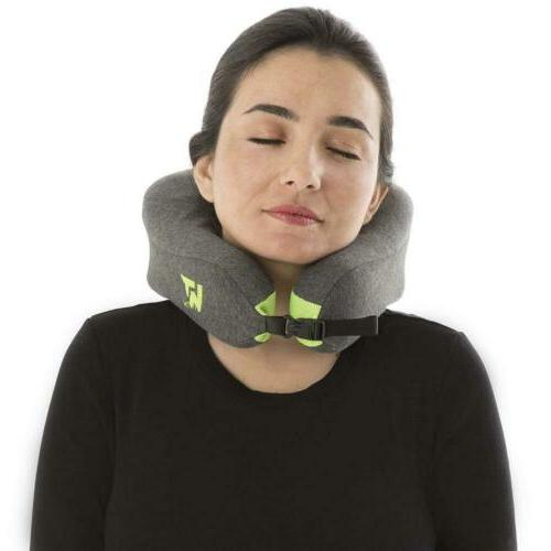 Neck Pillow for Airplane Travel Memory Foam