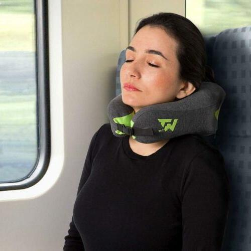 Neck for Travel Soft Memory Support Pillows