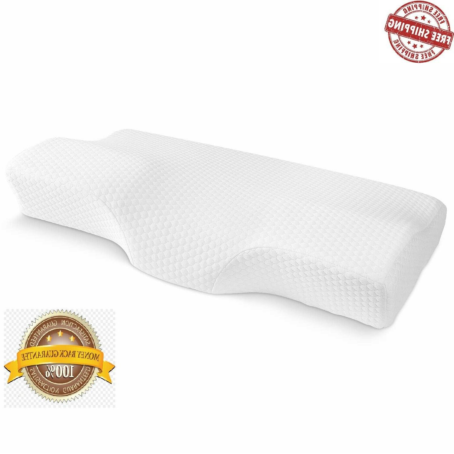 New Contour Memory Foam Orthopedic Pillow for Neck Pain Slee