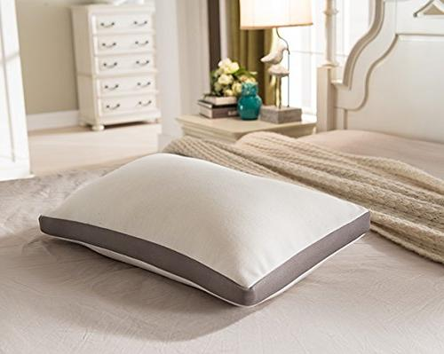 NOFFA Foam Neck Support With Pillow Bed Size