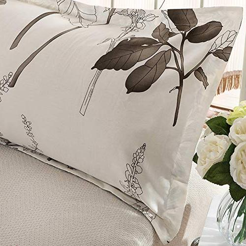Nufelans Modern 100% Cotton Throw Pillow Covers Sleep 48x120CM