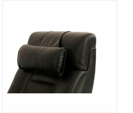 Octane Neck Handmade Black Traditional Leather Recliner
