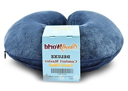 Comfortable Travel Wrapped with Neck a Foam Pillow that Provides Relief Travel, Home, Pain, and