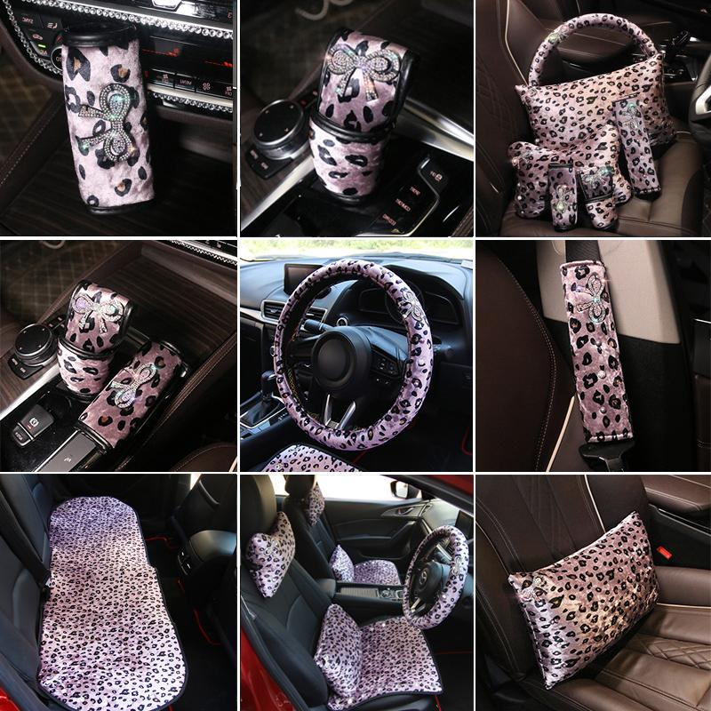 Seat <font><b>Neck</b></font> Waist Steering Cover Interior Accessories