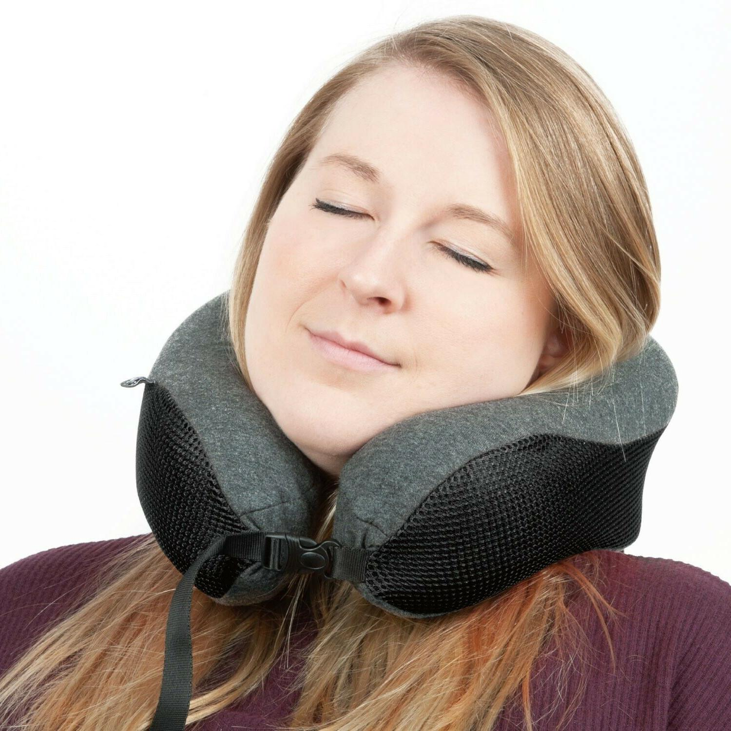 Memory Travel Neck Support Head Rest Soft Cushion