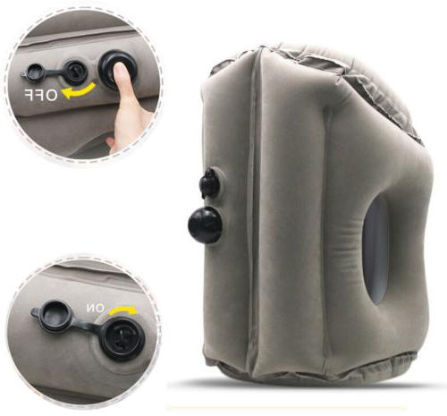 Inflatable Air Travel Pillow Camping Neck Head