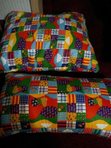 """Quilted Handmade Set 2 15""""x neck x 11"""""""