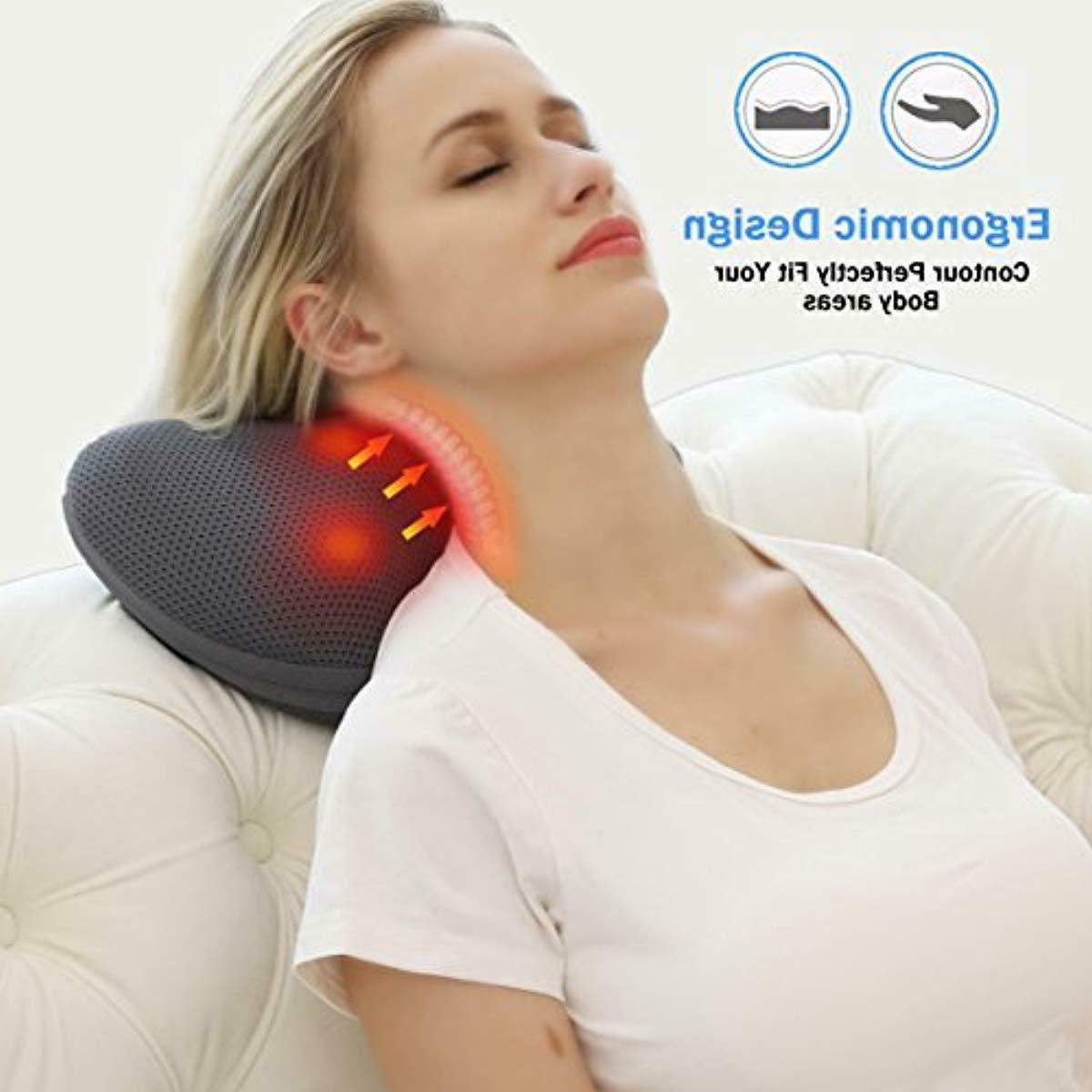 Shiatsu Neck Back Massager Massage -Gifts Men/Women/Mom