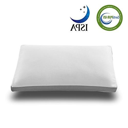 noffa memory foam pillow neck support pain relief washable c