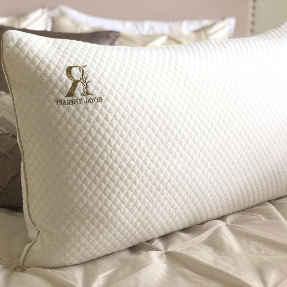 ROYAL THERAPY Queen Memory Foam Pillow Bamboo