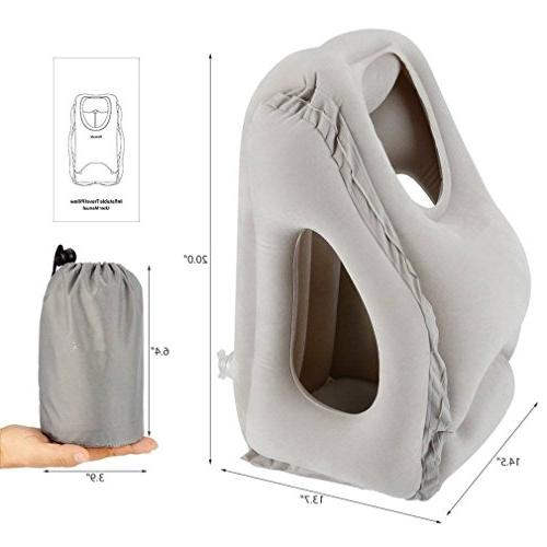 smart inflatable air cushion neck