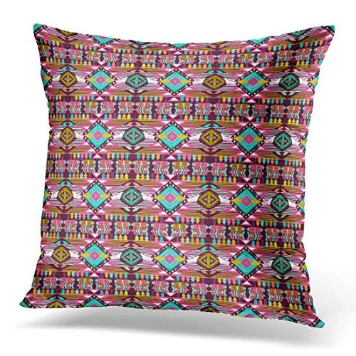 throw pillow cover colorful ethnic