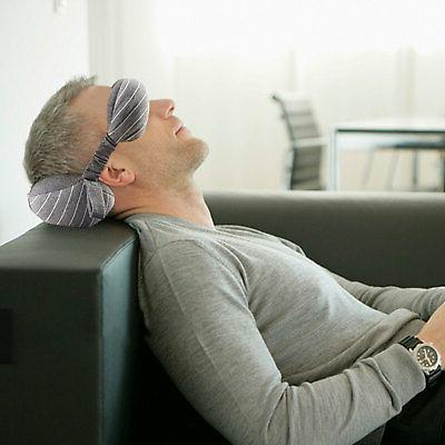 2in Neck pillow Mask Soft Sleep Nap